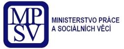 Logo - Ministerstvo práce a sociálních věcí