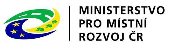 Logo - Ministerstvo pro místní rozvoj